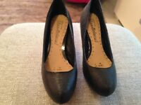 Ladies size 5 red herring shoes