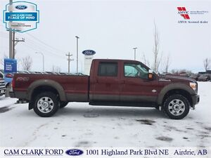 2015 Ford F-350 King Ranch Crew Cab 6.7L Diesel 4WD