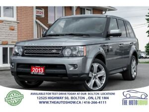 2013 Land Rover Range Rover Sport HSE LUX CARPROOF CLEAN 1 OWNER