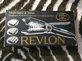 Revlon Multi Style and Shine - straighteners, crimp, wave