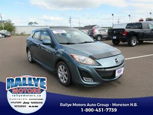 2011 Mazda MAZDA3 SPORT GS! Heated! Leather! Alloy! Sunroof! Sav