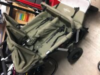 Easywalker pram. Large, sturdy pram that converts to buggy. Suitable from birth to 5 years.