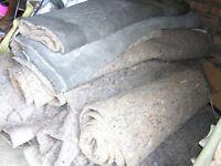 Carpet Underlay 10mm used