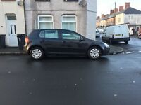 Diesel mk5 Volkswagen Golf 54 reg in black long mot px welcome ,FIRST TO DRIVE WILL BUY