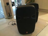 FANTASTIC JBL EON 515 Powered speakers . Bargain price