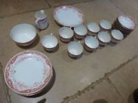 Dovedale Heathcote 1858 China Tea Set