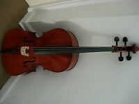 Cello (full-size) - excellent condition, good tone -suit beginner/improver -lovely gift!