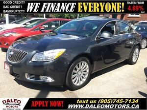2012 Buick Regal 79 KM 2.4L 1 OWNER LEATHER SUNROOF