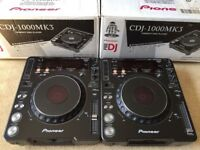 2 X Pioneer CDJ 1000 MK3 With Original Boxes & Power Cables
