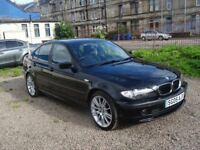 "GENUINE IMMACULATE 60K MILES BMW 318i 9mnths MOT 18"" MSPORT ALLOYS NEW TYRES LOOKS & DRIVES AS NEW"