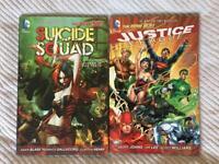 Suicide Squad & Justice League - DC Comics graphic novel bundle