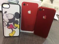 iPhone 7 128GB RED (EE -LIKE NEW-Limited Edition)