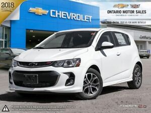 2018 Chevrolet Sonic LT Auto 0% Financing for 72 Months!/ POW...