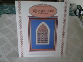 Cross Stitch Kit of a Stained Glass Window