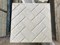 ⭐️ new ⭐️ brick effect concrete Paving slabs 450x450x38mm