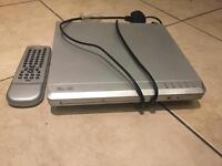 DVD player + remote