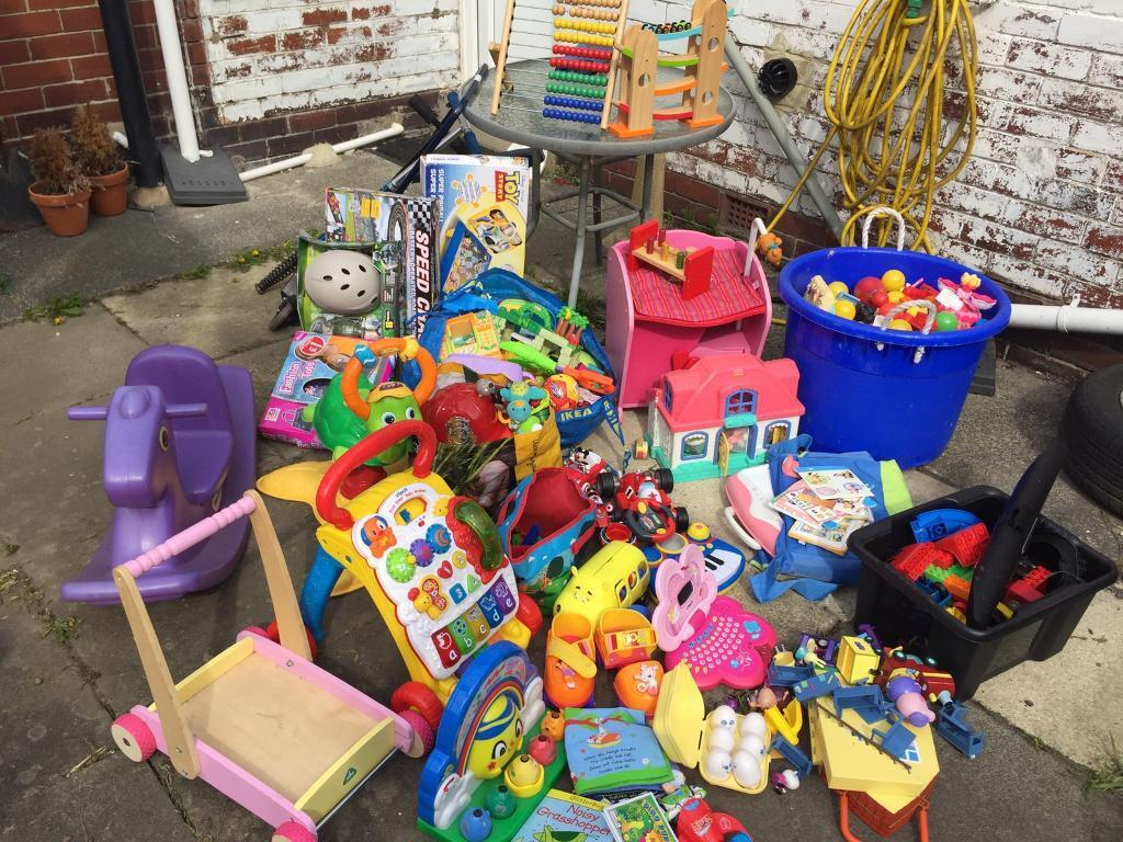 Pre school toys Bundle  ideal for playgroup or a car boot sale