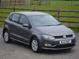 2015 VW POLO 1.0 BLUEMOTION TECH SE 5 DOOR **ONE OWNER FROM NEW**