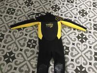 Children's wet suit ages 8-11.