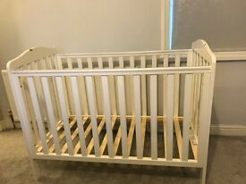 Mothercare White Takeley Cot