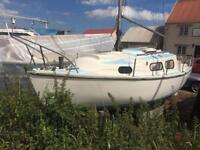 Islander 23 yacht