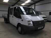 FORD TRANSIT DOUBLE CAB DROPSIDE