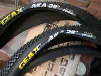 "bike tyres 29rs sold 26"" only here now 07490452380"