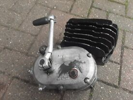 Complete ktm 50 cc engine