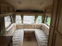 2 berth touring caravan, perfect starter no damp