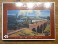 NEW JIGSAW 'FULL STEAM AHEAD'