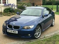 2009 BMW 320D M Sport Auto Coupe Diesel FSH HPI Clear Good Runner Cream Leather Automatic Bargain