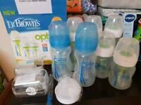 Dr Brown's Bottles plus teats