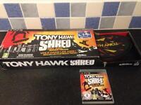 NEW PS3 TONY HAWK SHRED Board & game £15