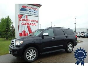 2014 Toyota Sequoia Limited 4x4 - 51,262 KMs, 8 Passenger SUV