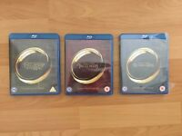 Lord of the Rings Extended Blu-Ray - As New Condition