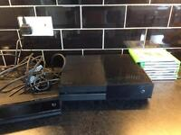 Xbox one 500gb 8 games swap for PS4 with games