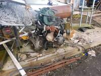 Ford transit 2.0 diesel engine and box
