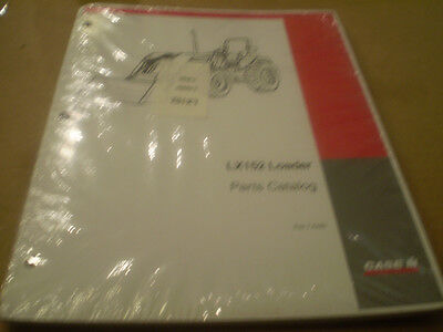 Case Ih Lx152 Loader Parts Catalog New Tractor