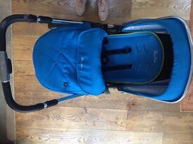 Silver Cross Wayfarer pram pushchair travel system buggy and car seat