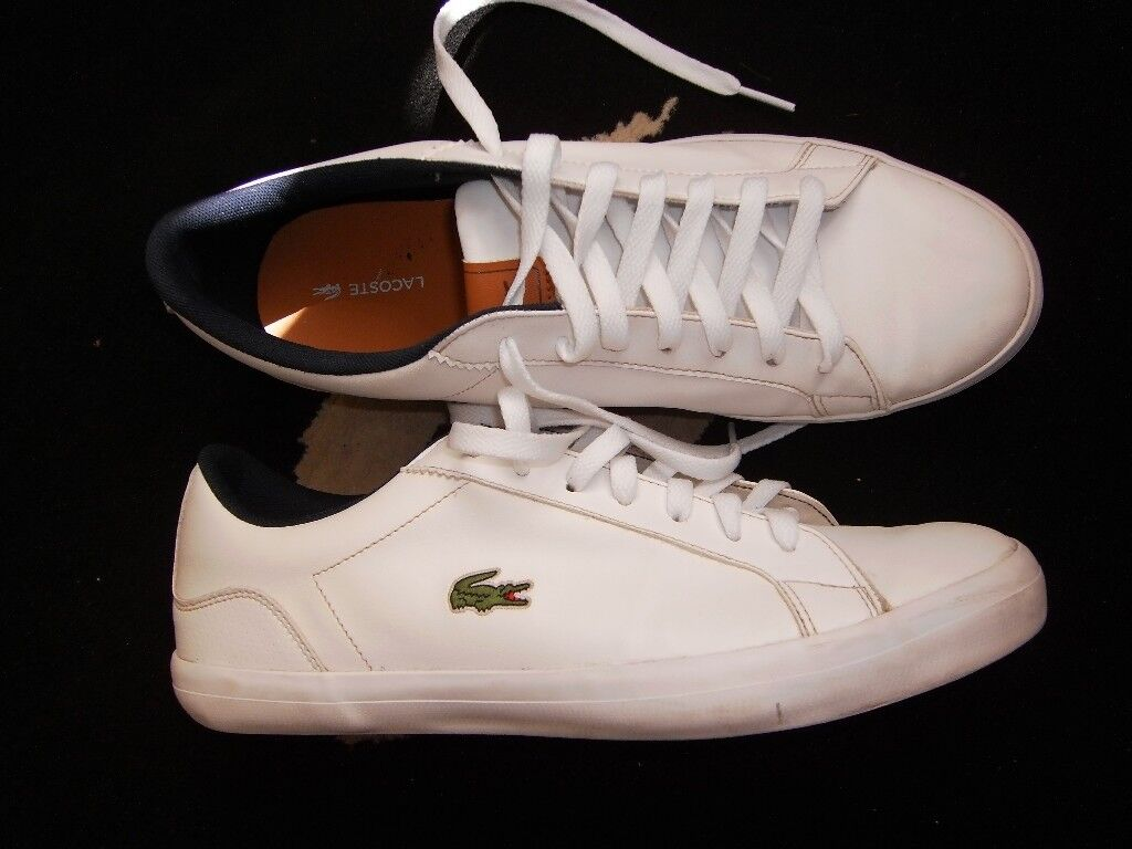 6e91a1e67f lacoste lerond trainers deck beach shoes 9s | in Sandwell, West ...