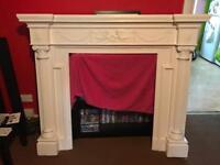 Beautiful large fireplace surroundings