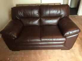 Leather Couch, 2 Seater