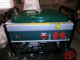Petrol generator, new
