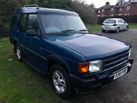 1998/R Land Rover Discovery 300 TDi 3dr 7 Seater