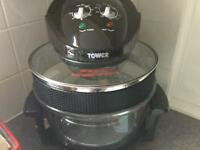 Tower air fryer AS NEW used once only. Cost over £50 , plus cook book and instructions