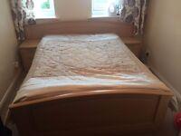 wodden bed frame