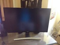 Samsung 27 inch Curved LED Monitor Perfect Condition
