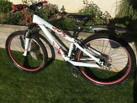 Youth Scott Voltage Y240 mountain bike.