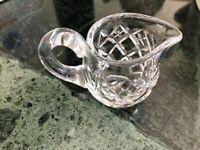 Crystal cut glass mini jug