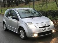 CITROEN C2 SX 2006. Petrol car .FULL service history . 12 months MOT. Vary good conditions .